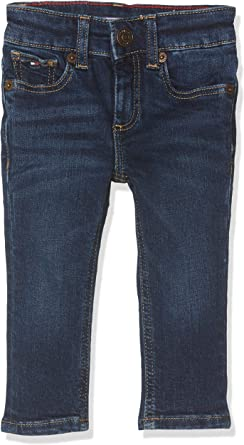 Tommy Hilfiger Boys Scanton Slim Nyds Jeans para Niños
