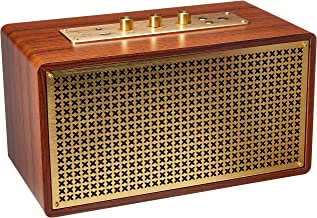 AmazonBasics Vintage Retro Bluetooth Speaker