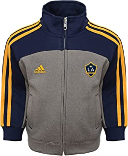 MLS by Outerstuff Toddler Trainer Pant Set, Charcoal, 2T, Los Angeles Galaxy
