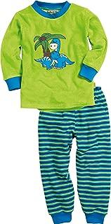 Playshoes 男童两件套睡衣 毛绒 恐龙图案