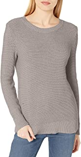 Daily Ritual Soft Cotton Tape Yarn Beachy Crewneck Sweater