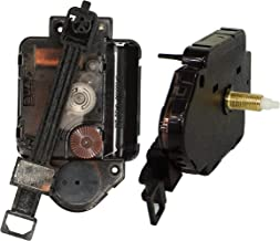 Original Youngtown 12888 Pendulum Type Movement Step Clock Accessory Quartz DIY Movement Kits,1/2 Inch Maximum Dial Thickness, 9/10 Inch Total Shaft Length.