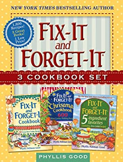 Fix-It and Forget-It Box Set: 3 Slow Cooker Classics in 1 Deluxe Gift Set