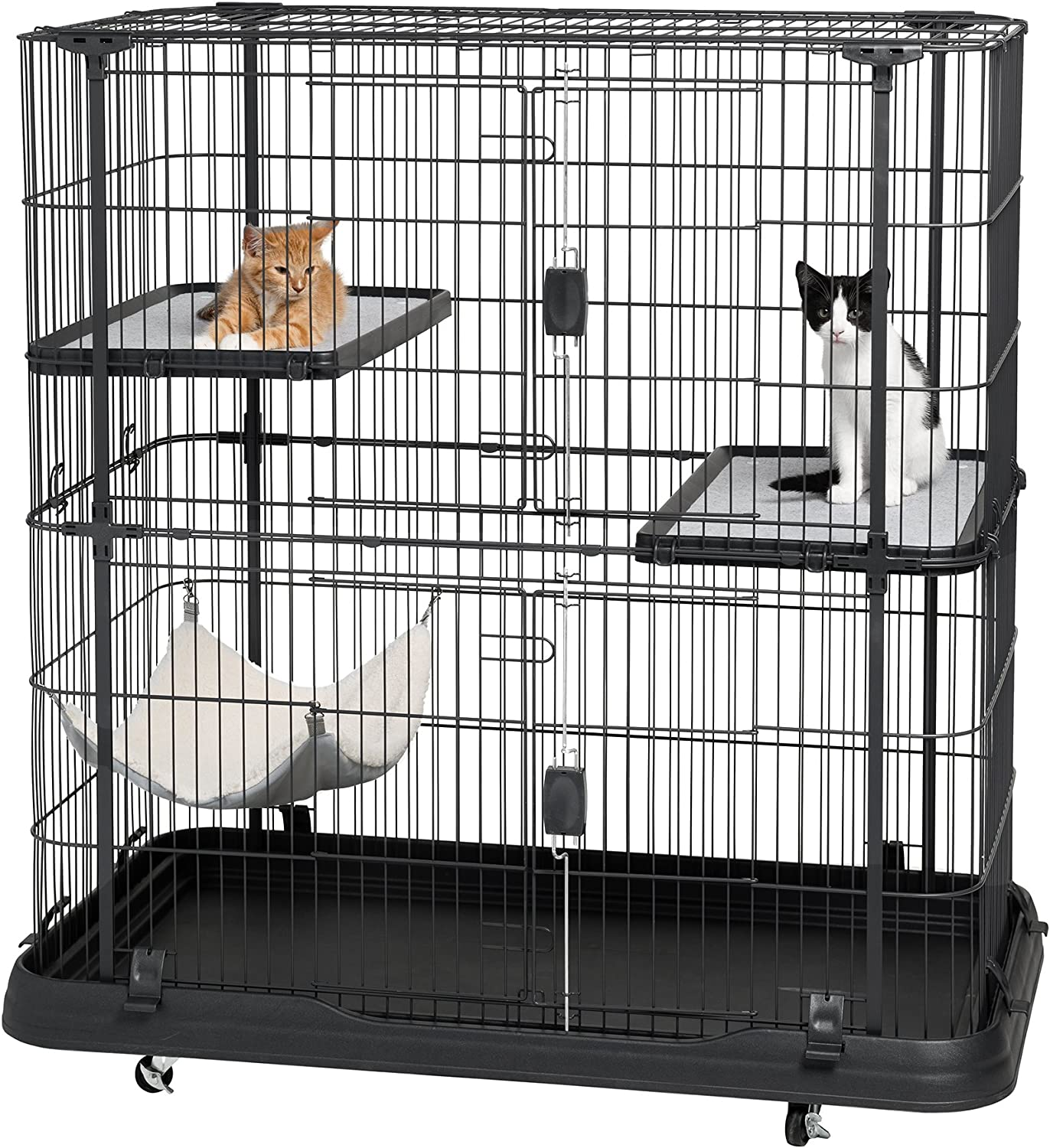 Sale price Prevue Pet Products Premium Deluxe Cat Safety and trust Black Home