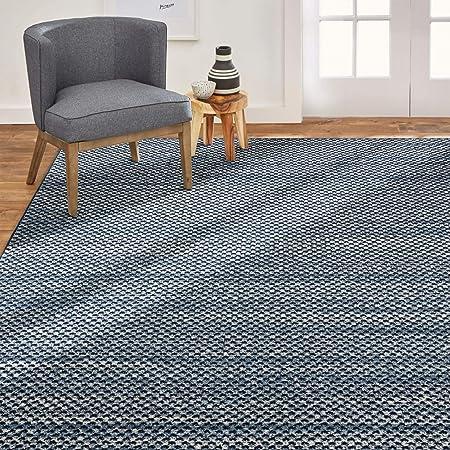 Home Dynamix Byron Elaine Transitional Abstract Area Rug 5 2 X7 2 Blue Furniture Decor