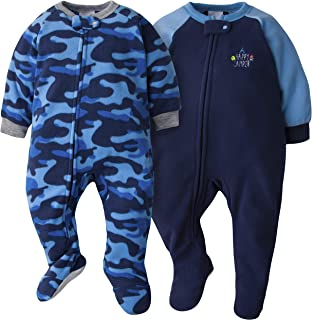 Gerber Baby Boys 2-Pack Blanket Sleeper, Blue Camo, 18 Months