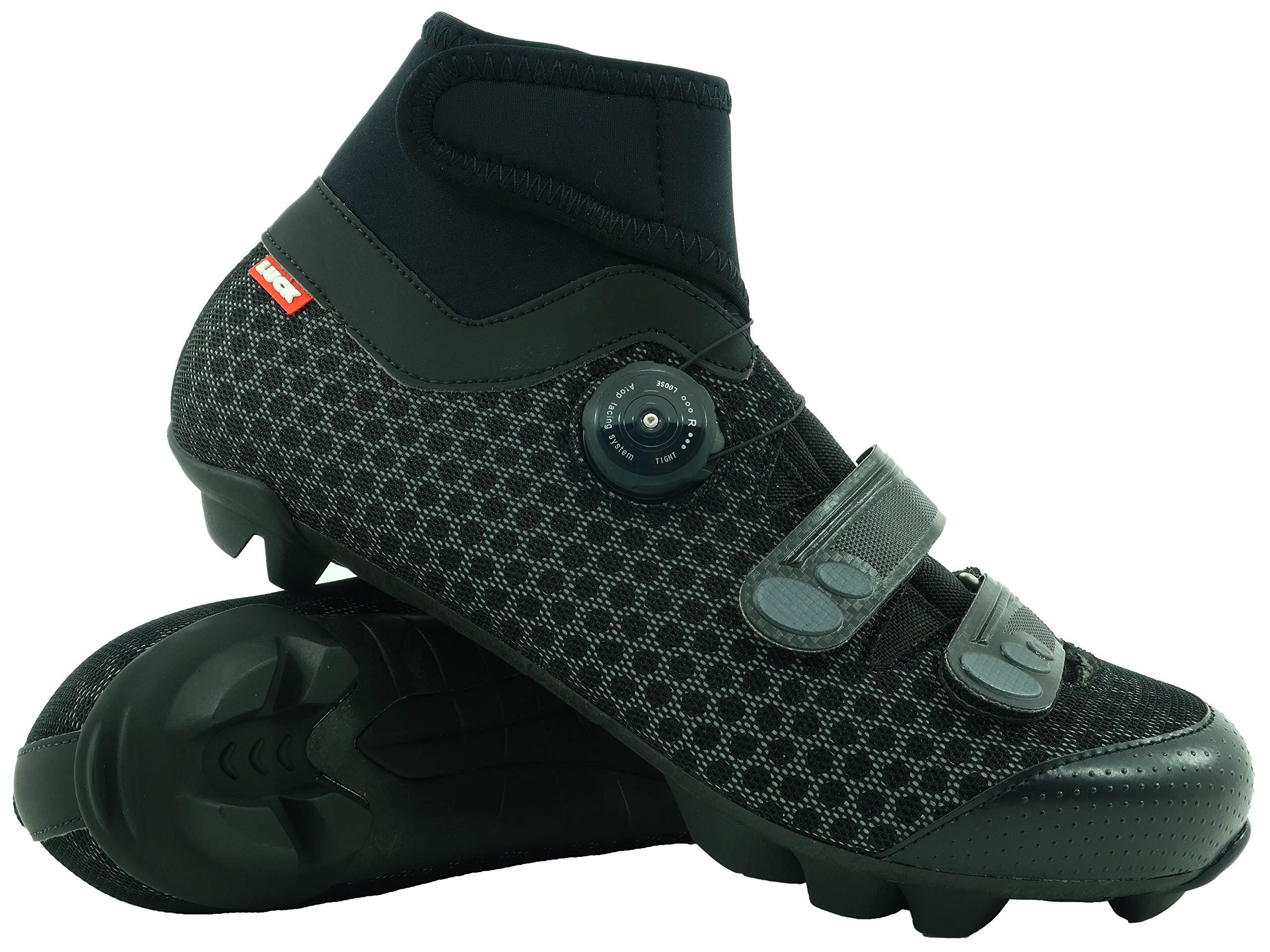 LUCK Zapatillas de Ciclismo para Invierno Winter MTB, con Suela de ...