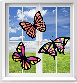 Best stained glass butterfly craft tissue paper Reviews
