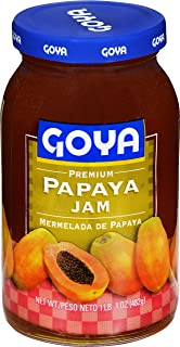 Goya Foods Premium Papaya Jam, 17 Ounce (Pack of 12)