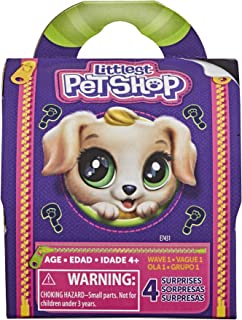 Littlest Pet Shop Tiny Pet Carrier Toy, Lots to Collect, Ages 4 and Up