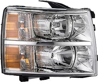 Passenger Side Headlamp Assembly Composite - Fits 07-13 Chevrolet Silverado 1500 - Parts Link #: GM2503280