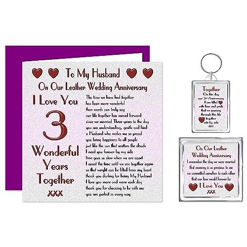 3rd Wedding Anniversary Gift For Husband: 3rd Wedding Anniversary Gifts For Husband: Amazon.co.uk