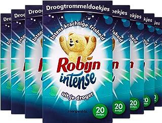 Robijn Morgenfris Droogtrommeldoekjes - 9 x 20 stuks - Voordeelverpakking