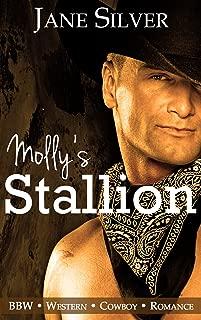Molly's Stallion (BBW Western Cowboy Romance) (Molly's Cowboy Book 1)
