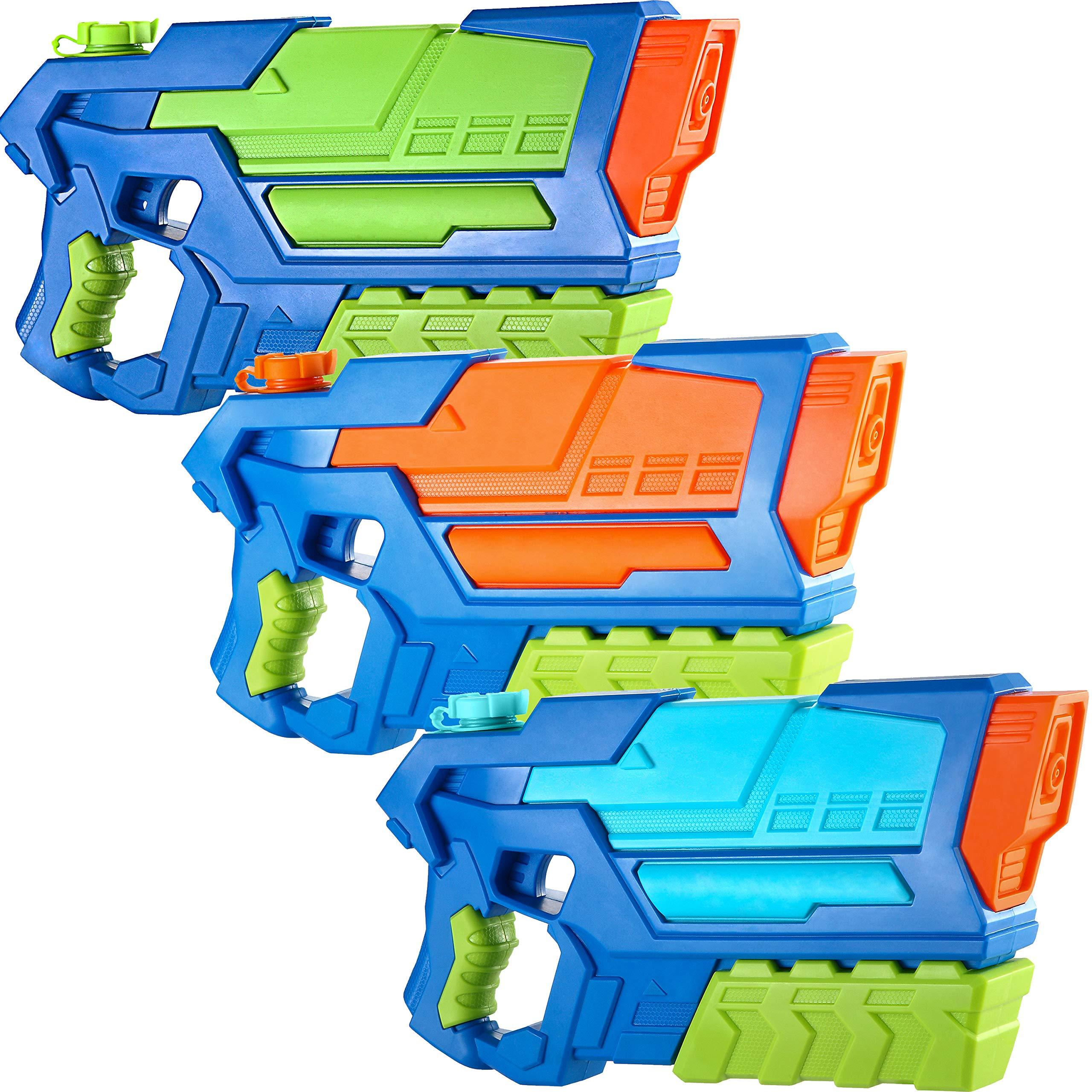JOYIN Pistolas de Agua para Niños 3 Pack Super Water Gun Juguetes ...