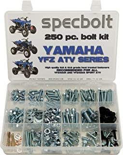 250pc Specbolt Yamaha Bolt Kit YFZ 450 YFZ450 ATV for Maintenance Upkeep & Restoration OEM Spec Fasteners ATV Quad