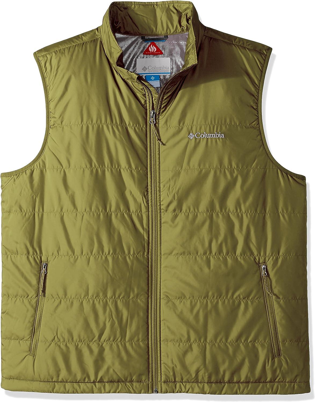 Columbia Men's Tall Saddle Chutes Vest, 3X Tall, Mossy Green