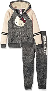 Hello Kitty - Piece Hooded Fleece Active Set