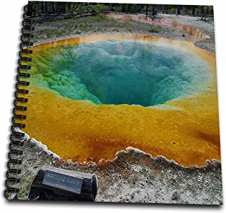 3dRose Morning Glory Pool Yellowstone National Park-Memory Book, 12 by 12