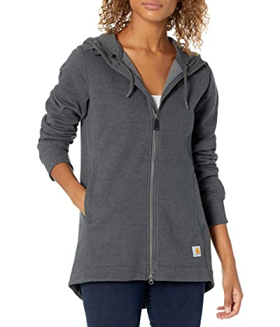 Carhartt Rain Defender Relaxed Fit Midweight Tunic Sweatshirt (Carbon Heather) Women