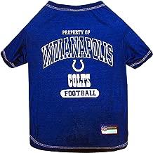 NFL INDIANAPOLIS COLTS Dog T-Shirt, Large
