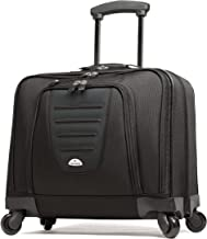 Samsonite 10392 Spinner Mobile Office Wheeled Briefcase, Black