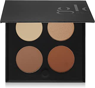 Glo Skin Beauty Contour Kit , Face Contour and Highlight Palette with Instructions , 2 Shade Options