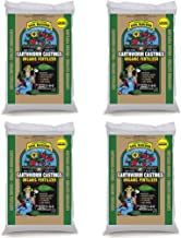 Unco Industries Wiggle Worm Organic Earthworm Castings Fertilizer, bLUDXb 4 Pack (15 Pounds)