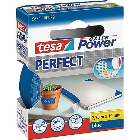 TESA 56343-00035-03 Gewebeband extra Power® 56343 weiß Länge 2,7 Rolle 6er PACK