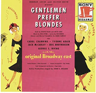 Gentlemen Prefer Blondes 1949 Original Broadway Cast