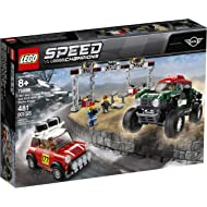 LEGO Speed Champions 1967 Mini Cooper S Rally and 2018 Mini John Cooper Works Buggy 75894...