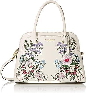 Karl Lagerfeld Paris womens Penelope Dome Satchel Handbag