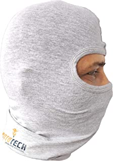 Mototech Cotton Storm Balaclava (Grey) -Proudly Made in India