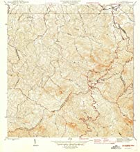 YellowMaps El Yunque PR topo map, 1:30000 Scale, 7.5 X 7.5 Minute, Historical, 1946, 21.3 x 19.3 in