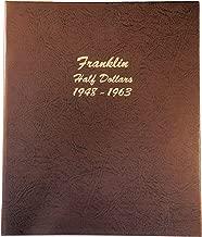 Dansco US Franklin Half Dollar Coin Album 1948 - 1963 #7165