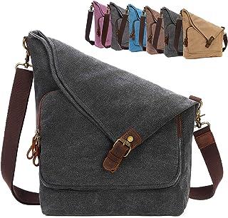 AmHoo حقيبة كروسبودي من القماش للنساء جلد طبيعي رسول حقائب يد حقيبة كتف حقيبة هوبو