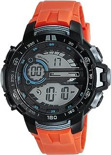 Sonata Fibre (SF) Digital Grey Dial Men's Watch-77074PP04