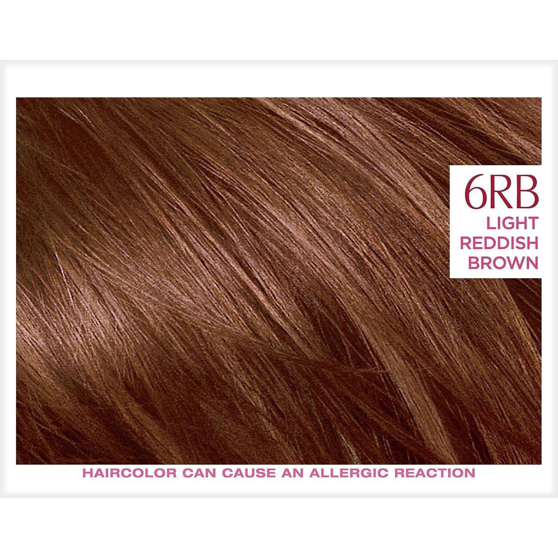Light Reddish Brown Hair