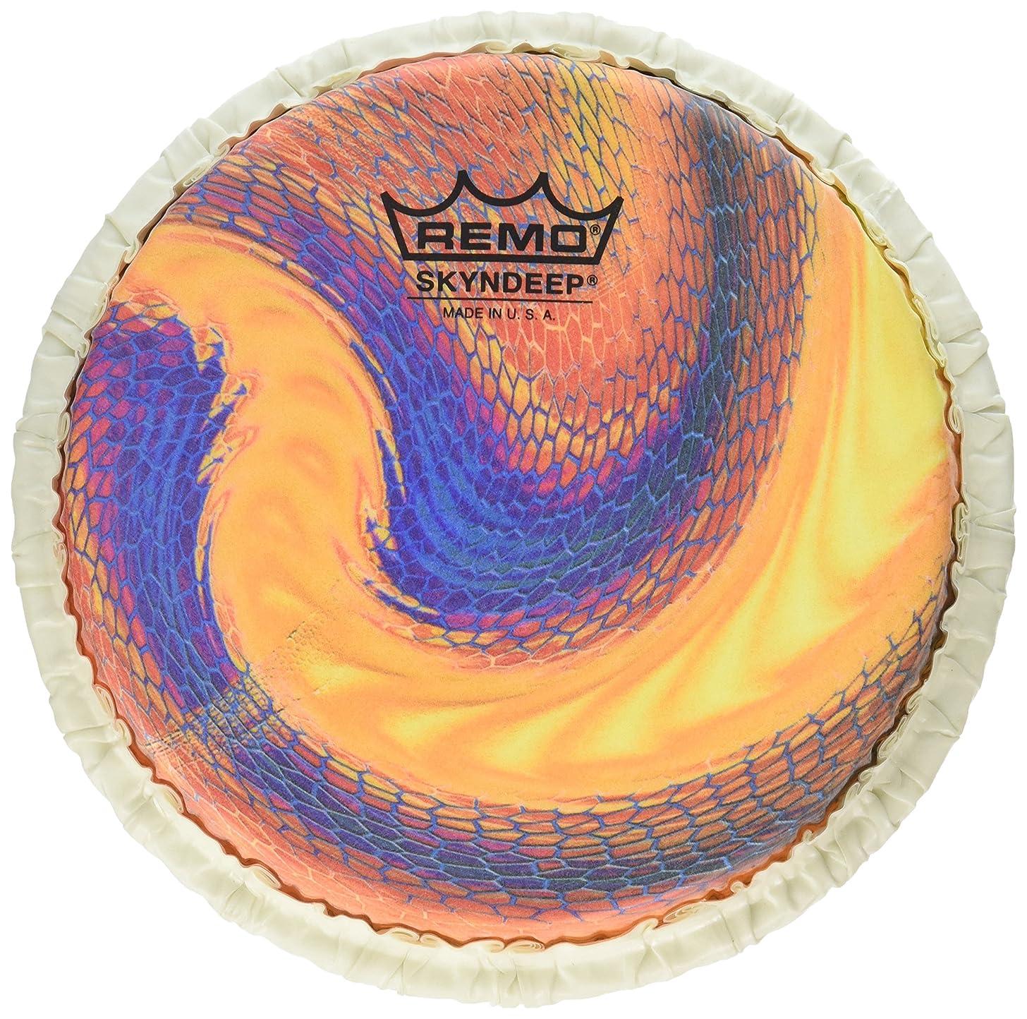 Remo Bongo Drumhead, Tucked, 7.15
