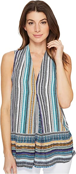 Perry Pleat Front Blouse