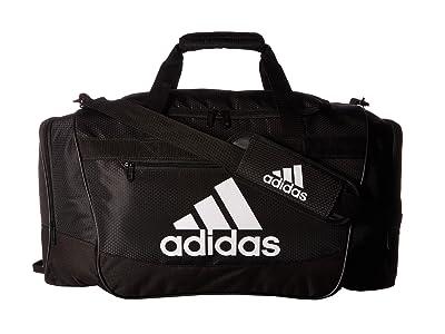 adidas Defender III Medium Duffel (Black/White) Bags