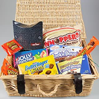 Candy The Ultimate American Hamper By Moreton Gifts Ideal Father's Day , Man's Birthday Gift Resee's, Jolly Rancher , Butter Finger
