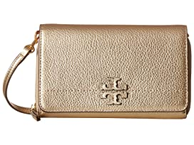 97be6c401 Tory Burch McGraw Metallic Fold-Over Crossbody at 6pm