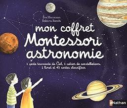 Mon coffret Montessori astronomie (Coffrets Montessori) (French Edition)