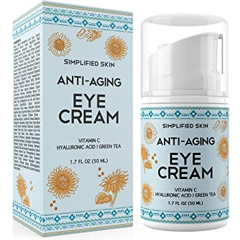 Amazon Com Anti Aging Eye Cream For Dark Circles Wrinkles Bags