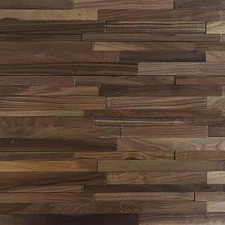 Nuvelle Deco Strips Stonehenge Buckeye 3/8 in. x 7-3/4 in. Wide x 47-1/4 in. Length Hardwood Wall Strips (10.334 sq. ft (Oak) NV9DS
