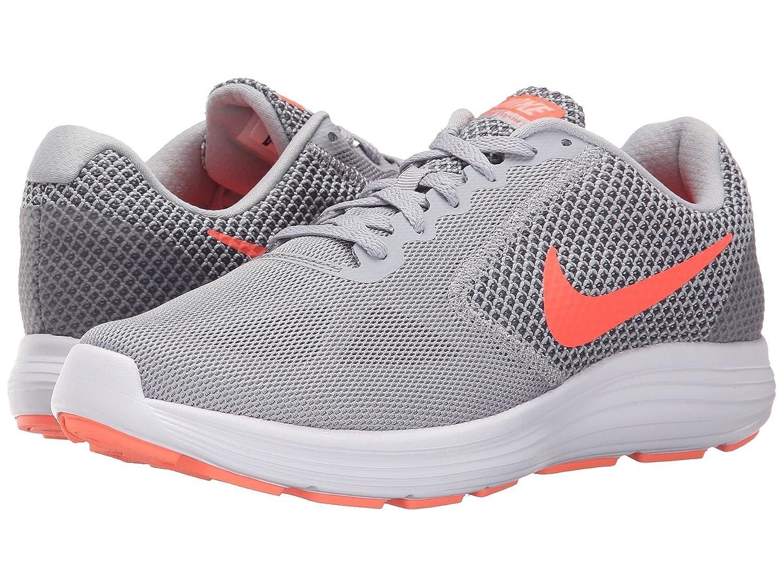 大惨事王位納得させる(ナイキ) NIKE レディースランニングシューズ?スニーカー?靴 Revolution 3 Wolf Grey/Cool Grey/Atomic Pink/Hyper Orange 9 (26cm) B - Medium