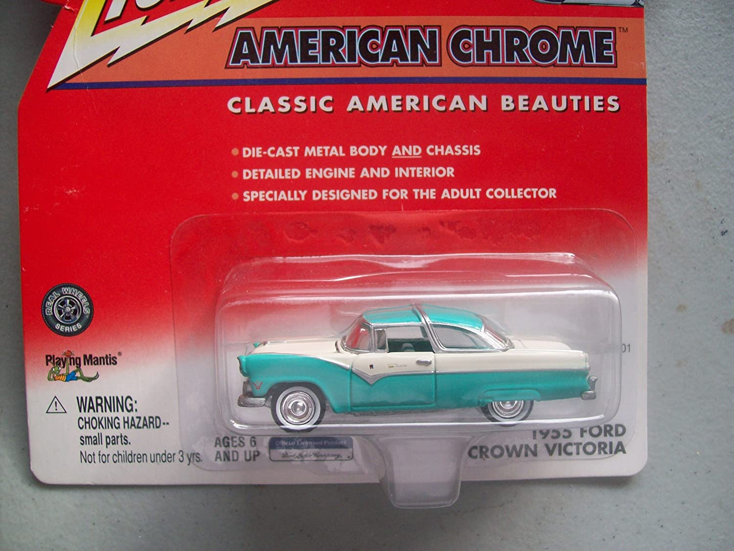 Johnny Lightning 2001 American Chrome 1955 Ford Crown Victoria by Johnny Lightning