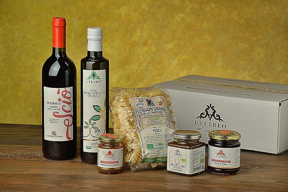 Sicily cooking box pasquale ,idea pasqua 2021,prodotti tipici artigianali siciliani