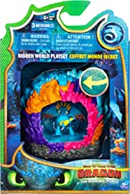 DreamWorks Dragons Hidden World Playset, Dragon Lair with Collectible Stormfly Figure, for Kids Aged 4 and Up